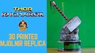 Thor Ragnarok: 3D Printed Mjolnir Replica- Chris
