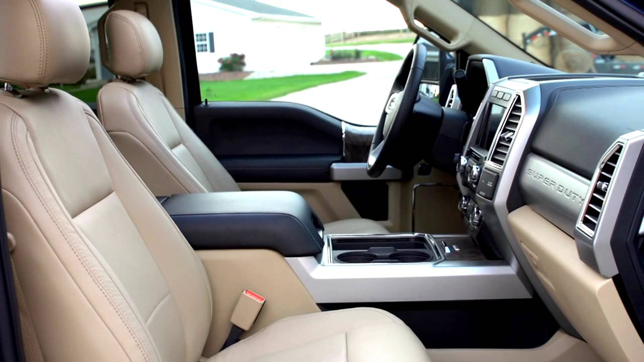 2017 Ford F 250 Super Duty Exterior And Interior