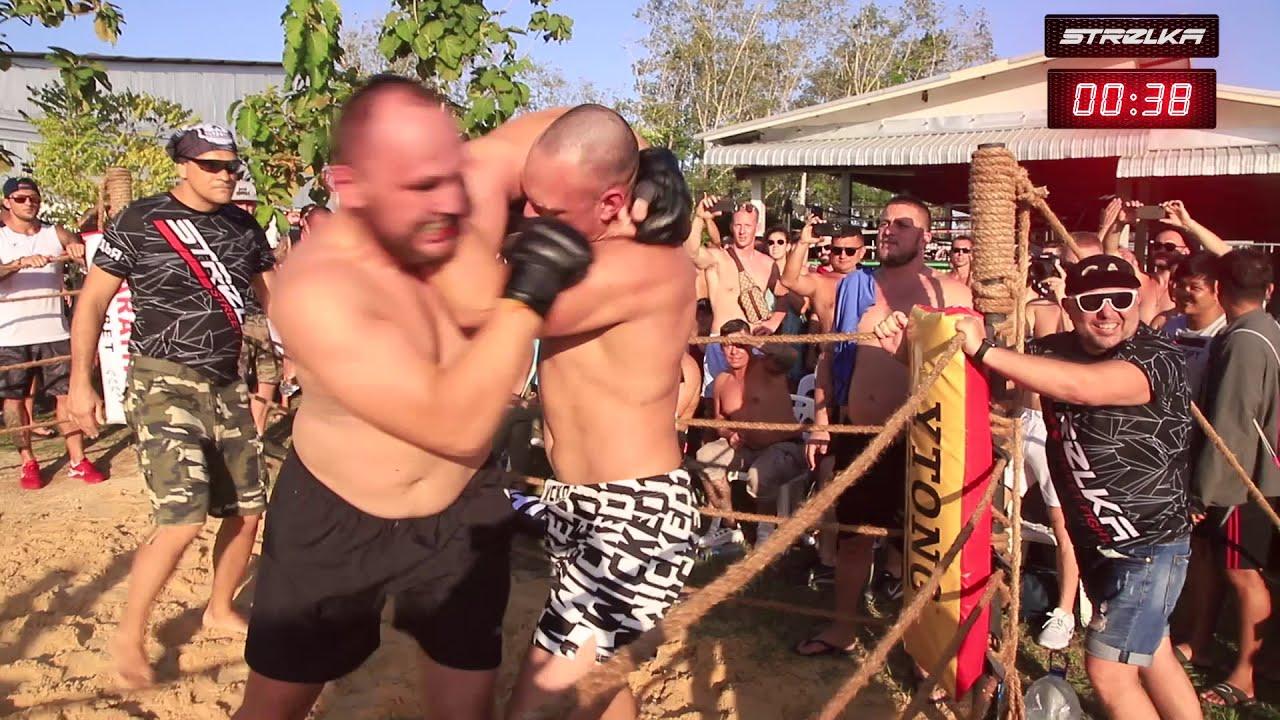 MMA MONSTER of Brazil vs Russian FATMAN !!! Crazy Fight !!!