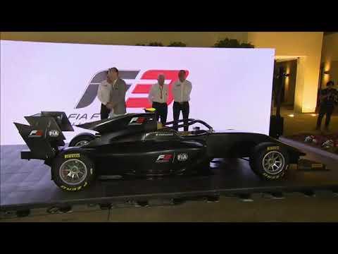 2019 Formula (F3) Car Displayed in The Abu Dhabi Paddock.