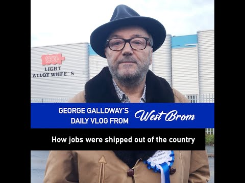 Daily Vlog From West Brom: How Jobs Were Shipped Out Of The Country