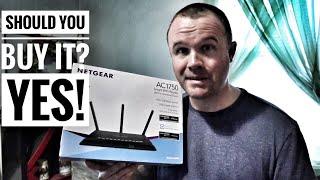 Best WiFi router Netgear Nighthawk AC1750 R6700 review