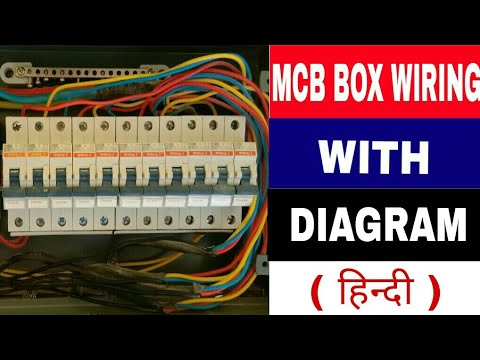 on home wiring mcb connection