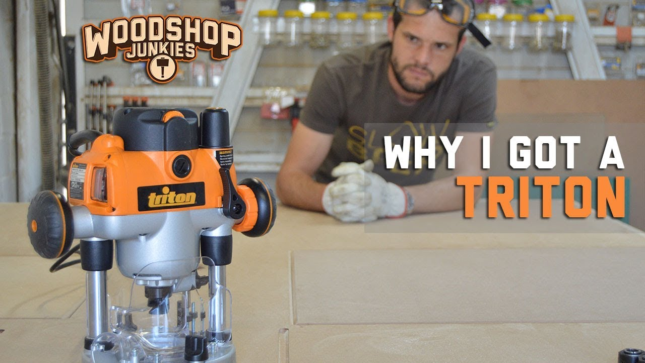 Triton Routers Best For Table Mounting Router Review Woodwork Junkie
