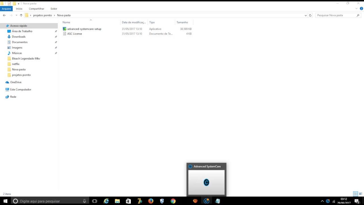Advanced SystemCare 10.4 PRO + Serial Key 2017