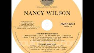Watch Nancy Wilson Ive Never Been To Me video