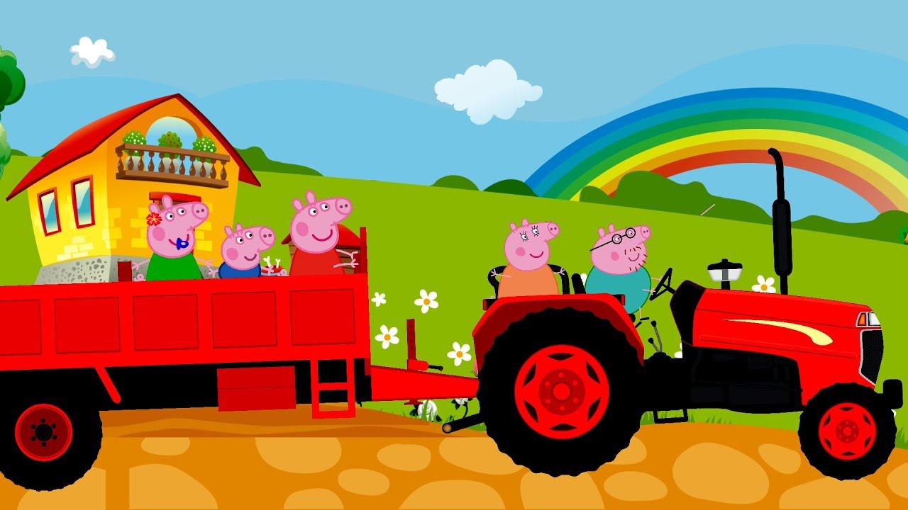 Tractor Songs For Kids Lyrics