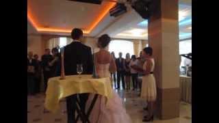 Свадебная песочная церемония с регистрацией брака!