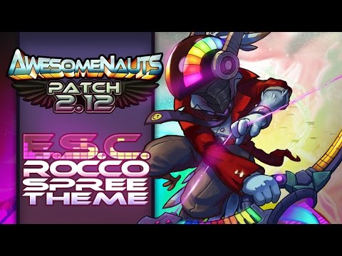 Awesomenauts Soundtrack  - Electronic Supersonic Cybertronic Rocco Killing Spree