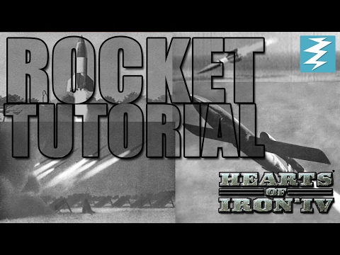 Rocket Tutorial - Hearts Of Iron IV HOI4 Paradox Interactive
