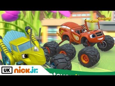 NEW CHANNEL: Blaze and the Monster Machines | Sing Along : Big Ant-venture | Nick Jr. UK