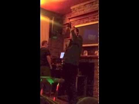 Gardner on karaoke