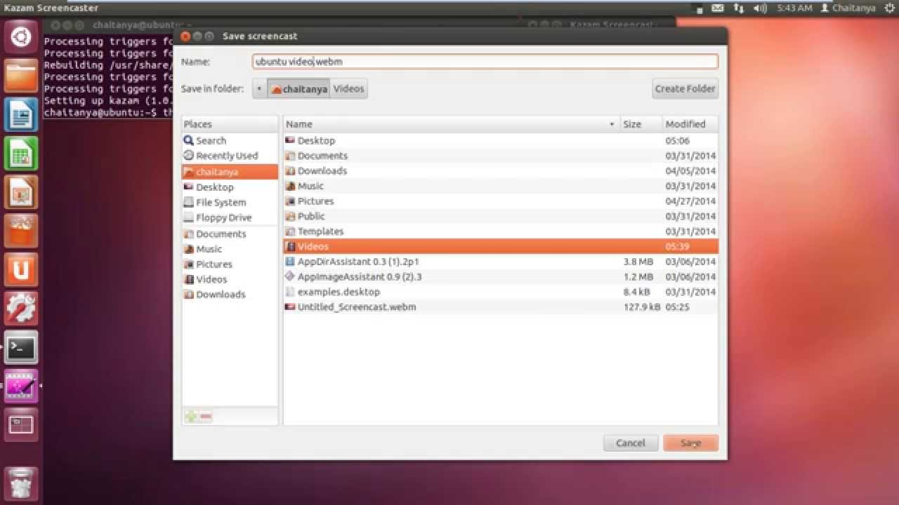 Record Screen video[Screencast] on Linux/Ubuntu/ArchLinux/LinuxMint |  Record Screen in Ubuntu Linux