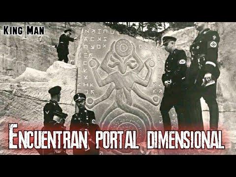 El portal dimensional encontrado en Afganistan por soldados y arqueologos alemanes ya es viral