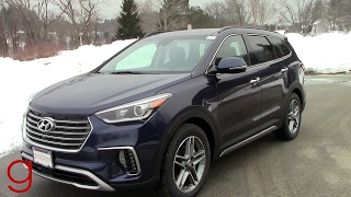 2017 Hyundai Santa Fe Limited AWD Ultimate | Road Test & Review