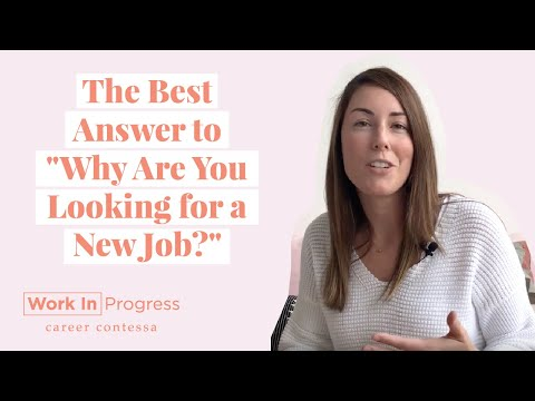 """How to Answer """"Why Are You Looking for a New Job"""" in a Job Interview (+ A Sample Answer)"""