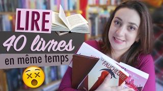 Oups, je lis 40 livres en même temps... Et vous ? | Myriam