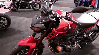 2018 Yamaha FZ 09 Complete Accs Series Lookaround Le Moto Around The World