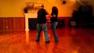 Terry & Jeri dancing East Coast Swing