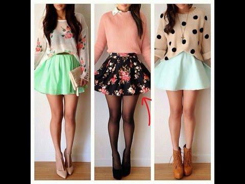 Как носить и с чем сочетать разные виды юбок