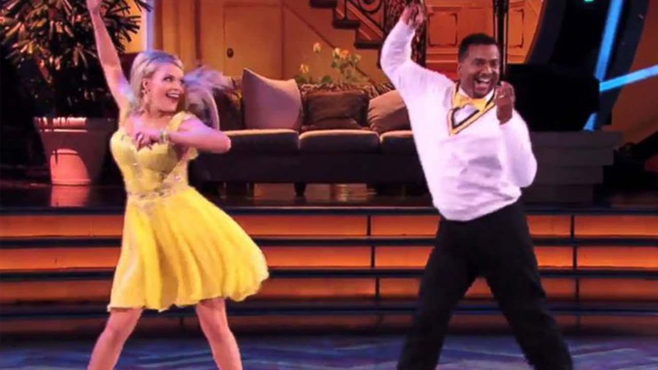 Alfonso Ribeiro Does The Carlton Dance On Dwts Youtube