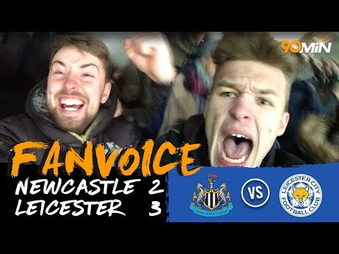 Leicester edge past Newcastle 3-2 with late own goal! I  Newcastle 2-3 Leicester  I  90min FanVoice