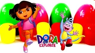Dora The Explorer - Surprise eggs - Toys Collection (Full HD)