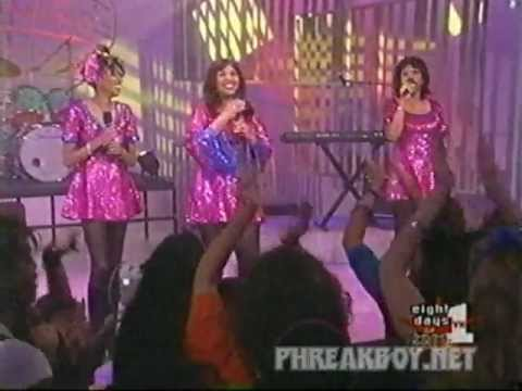 Pointer Sisters I'm So Excited live (June, Anita, Ruth)