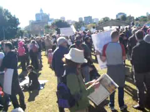 """Sydney Says """"YES!"""" to a Cutting Carbon Pollution, June 5, 2011"""