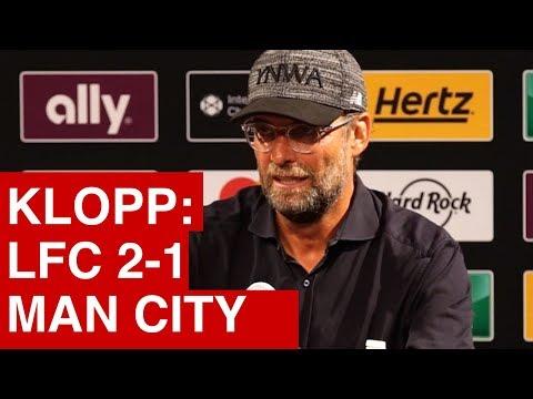 Jurgen Klopp on Liverpool's pre-season win over Man City