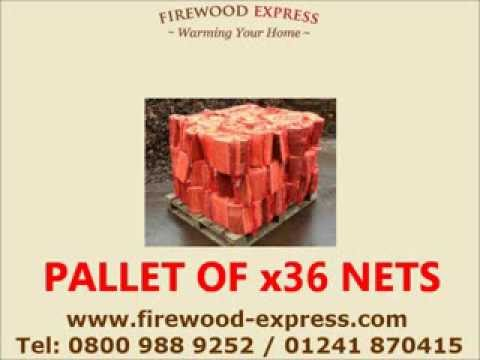 Firewood Express FREE UK Mainland Delivery of Seasoned Logs, Briquettes & Kindling
