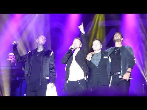 Boyzone tribute to Stephen Gately