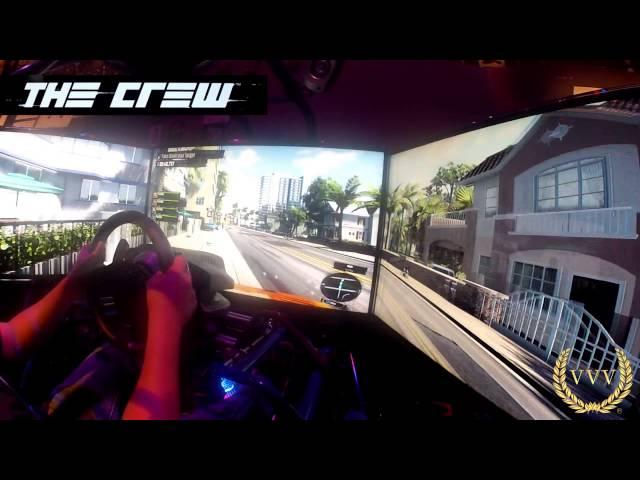 The Crew Triple Screen Gameplay E3 2013