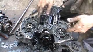 Как разобрать двигатель ВАЗ Ока 2 Часть