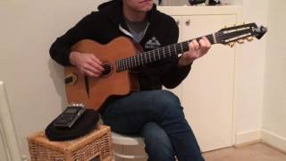 """""""For No One"""" Beatles acoustic guitar instrumental"""
