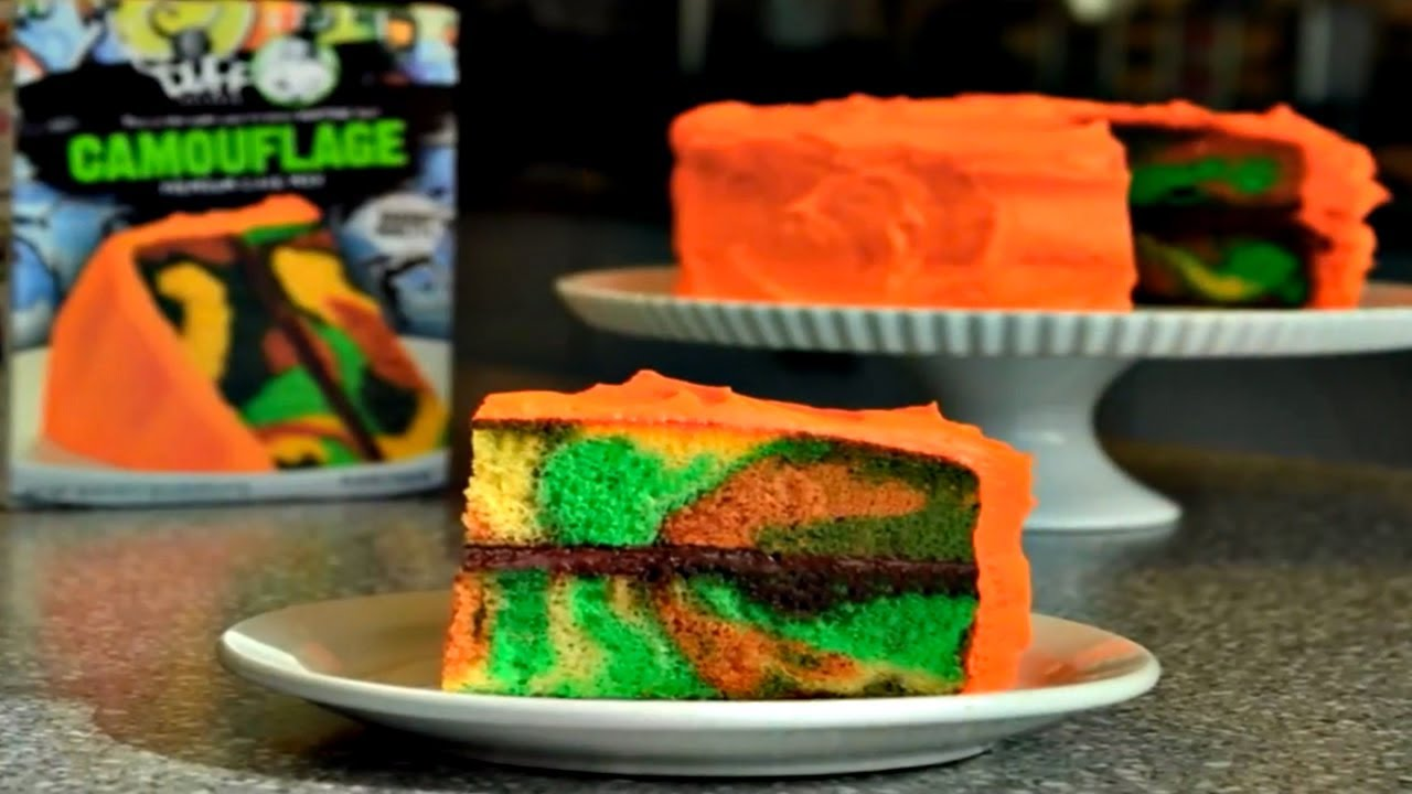 Duff Goldman How To Make A Camouflage Cake Youtube
