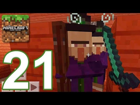 Minecraft: PE - Gameplay Walkthrough Part 21 - Cobblestone Island (iOS, Android)