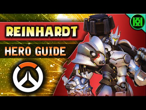 Overwatch: REINHARDT Guide | Hero Abilities + Character Strategy | Reinhardt Tips & Tricks