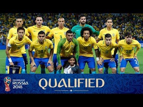 Brazil Squad For FIFA world cup 2018 Russia