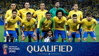 Brazil Squad For FIFA world cup 2018 Russia