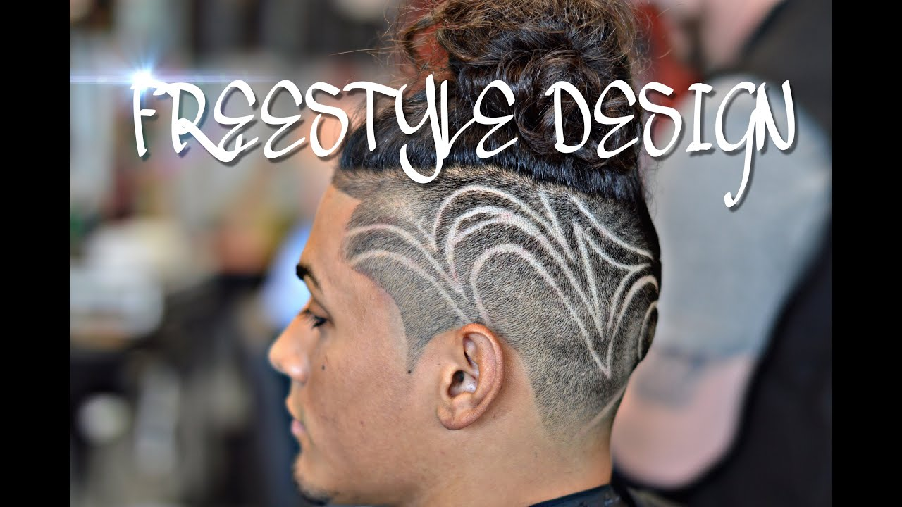 How To Do A Haircut Design Step By Step Youtube