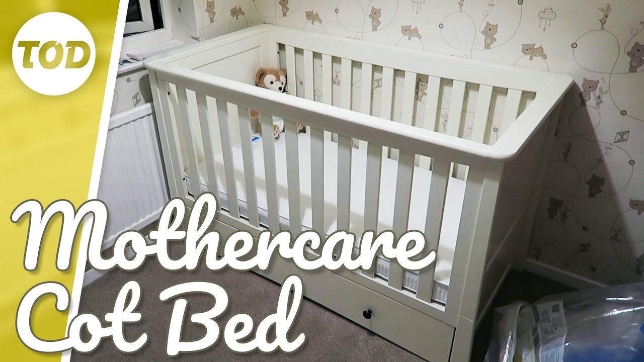 Putting Up The Harrogate Cot Bed By Mothercare Oxleys Daily