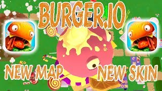 Burger.io New Map | New Skin | New Classic & Solo Records  Ios | Android
