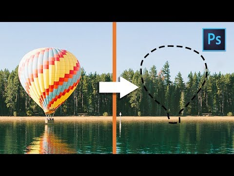 [ Photoshop Tutorial ] The Easiest Ways To Remove ANYTHING From Image thumbnail
