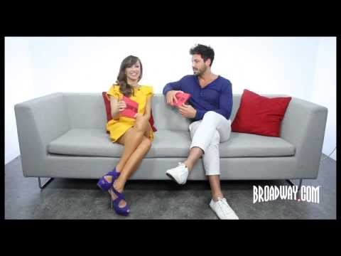 "Karina Smirnoff & Maksim Chmerkovskiy Dish About ""Dancing With the Stars"" & ""Forever Tango"""