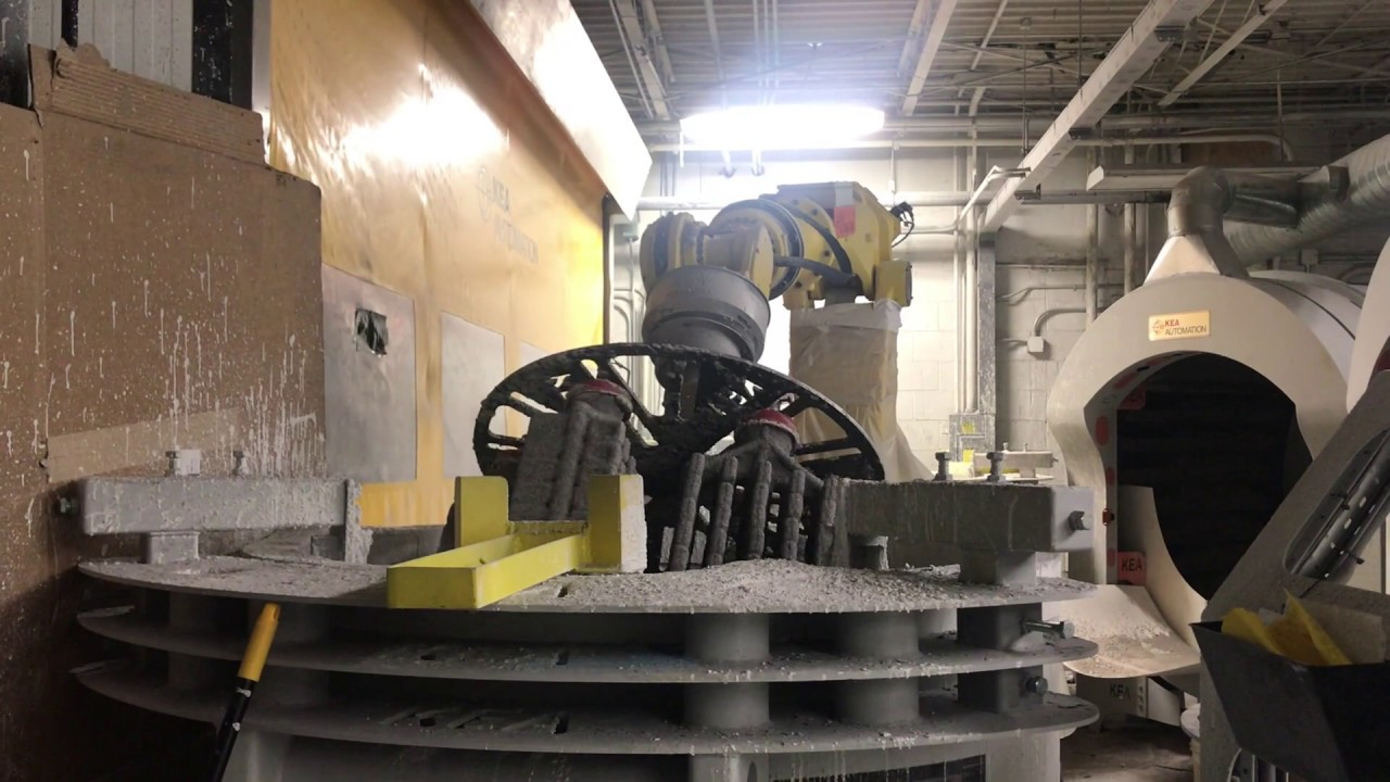 Robotic Investment Casting - Shelling System (2/7)