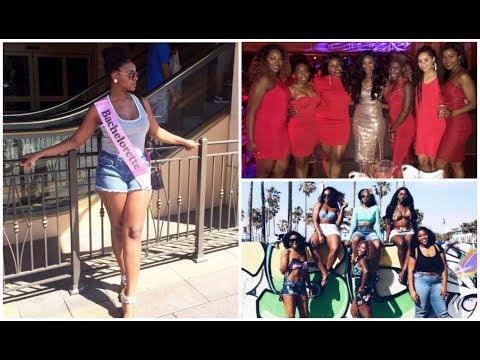 Vlog   LA + Vegas Bachelorette Weekend!! #IssaBadBach - IfyYvonne