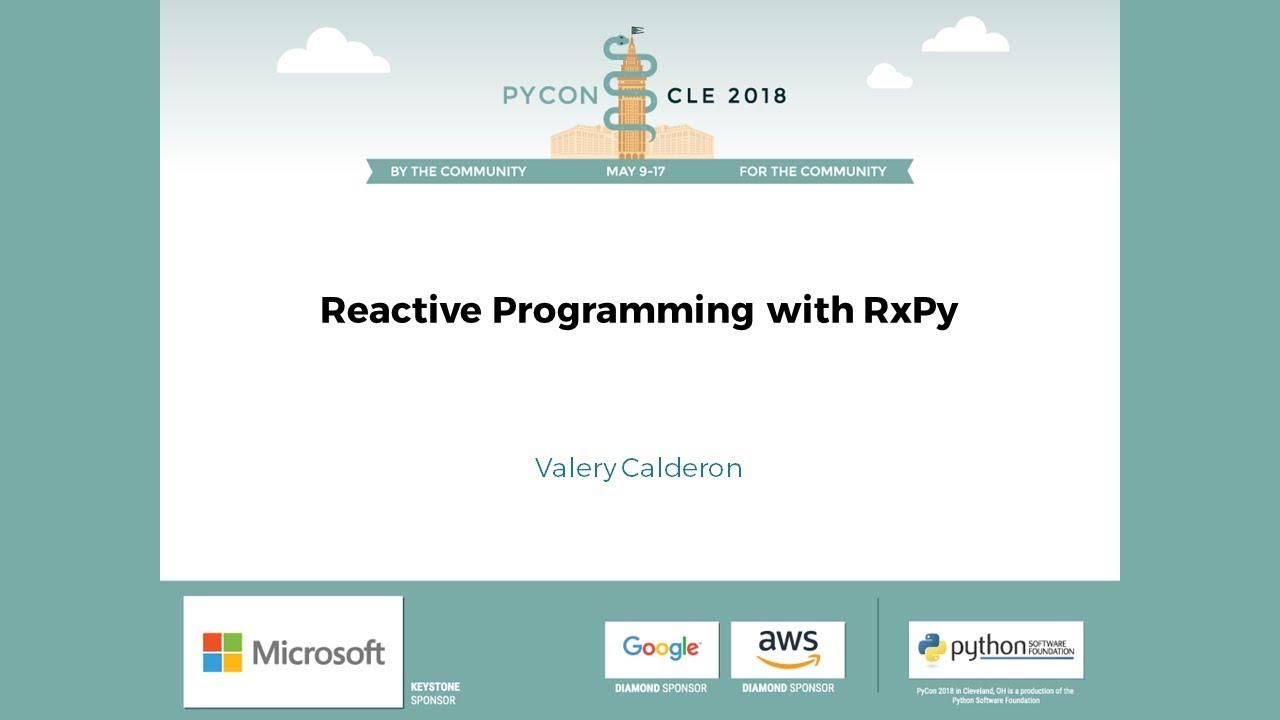Image from Reactive Programming with RxPy