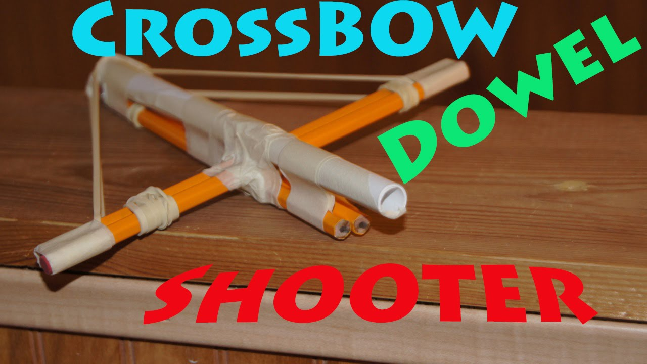 How to make an easy crossbow gun robs world youtube jeuxipadfo Image collections