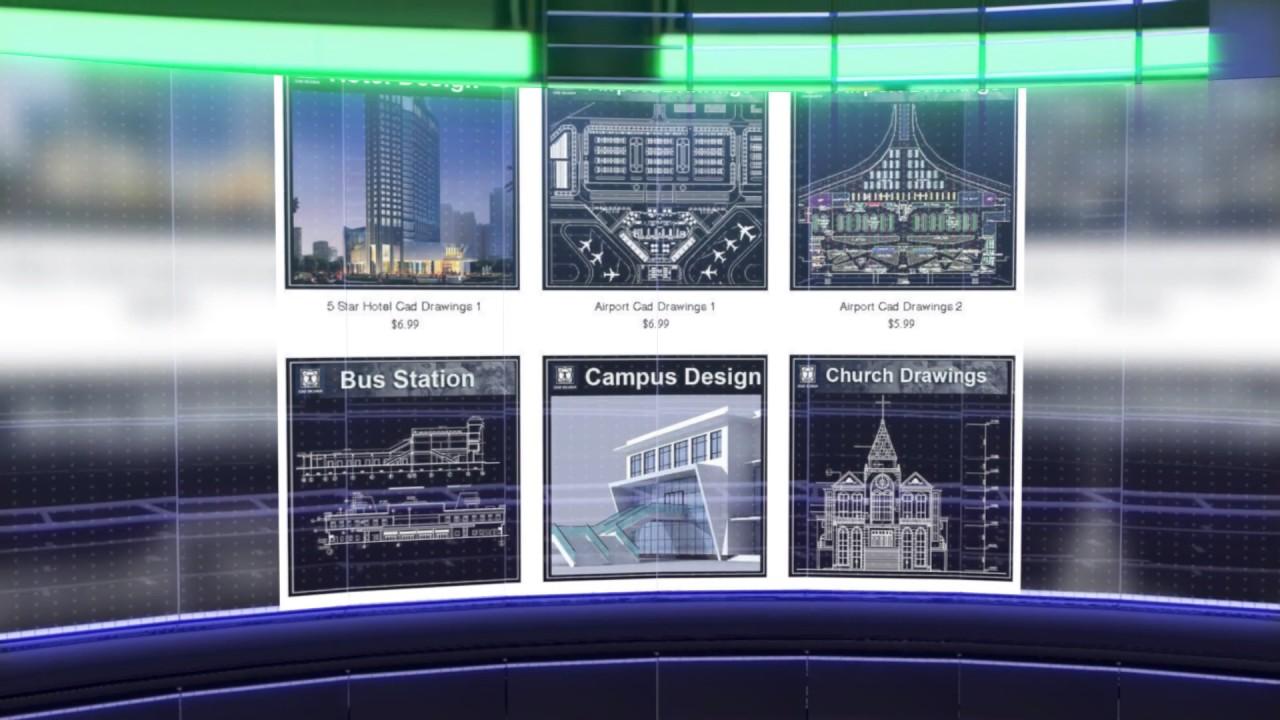 Interior Design CAD Block Free Download AutoCAD Blocks   YouTube